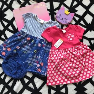 💖💖GYMBOREE!!! 2 dresses 18-24 months💖💖